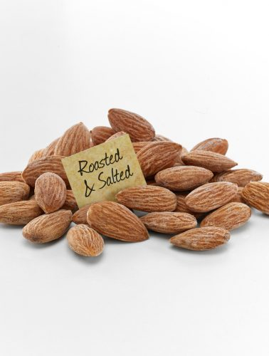 Oven Roasted and Salted Almonds