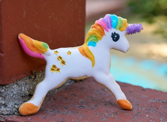 unicorn easy shortbread cookie biscuit recipe