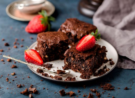 gooey vegan gluten free brownies