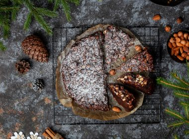 panforte christmas chocolate cake nuts