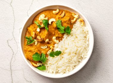 vegan veganuary curry cashew tofu